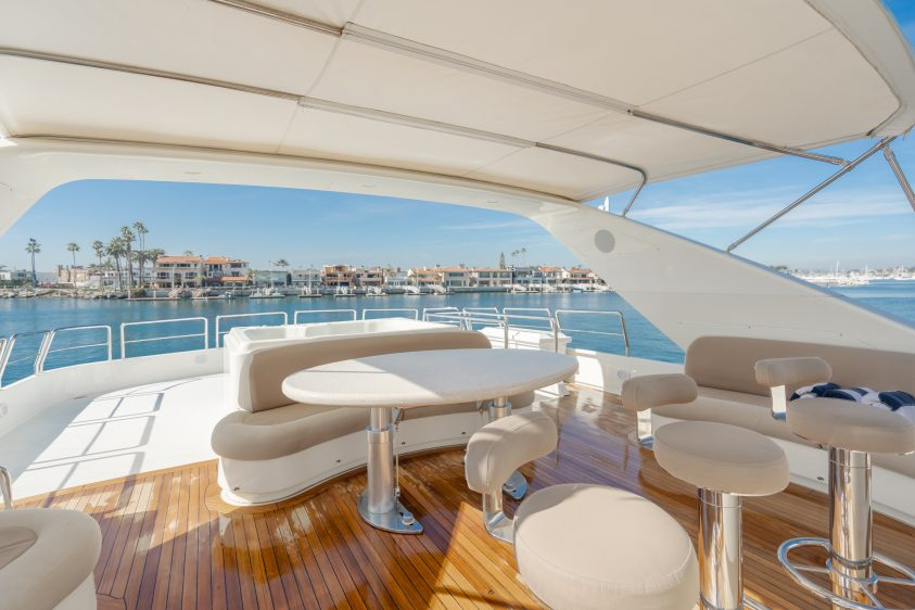 100' Azimut Newport Beach Super Yacht Rental