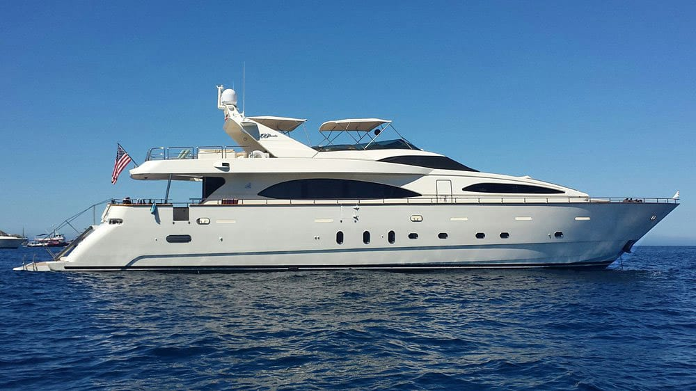 101' Azimut Newport Beach Luxury Yacht Profile