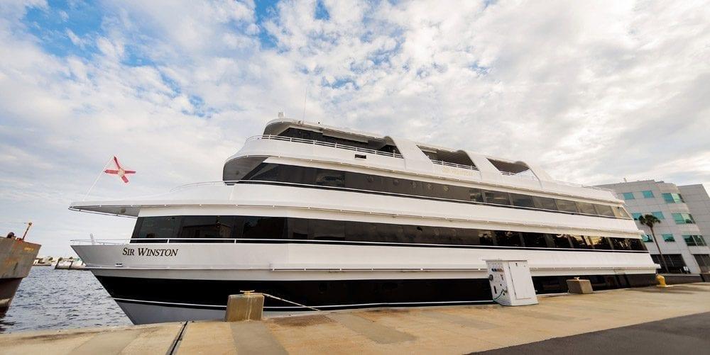 102' Sir Winston Mega-Yacht Charter Long Beach Profile