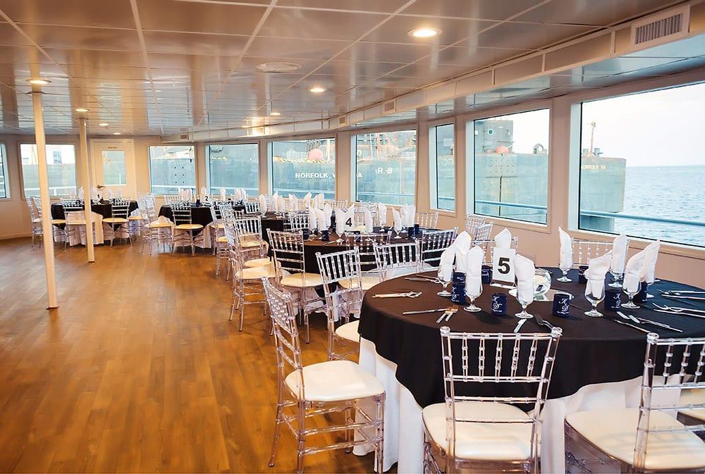 102' Sir Winston Mega-Yacht Charter Long Beach Seating