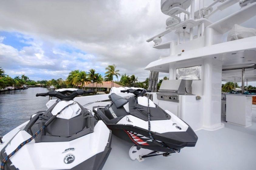 108' Monte Fino Marina del Rey Yacht Rental Jet Skis