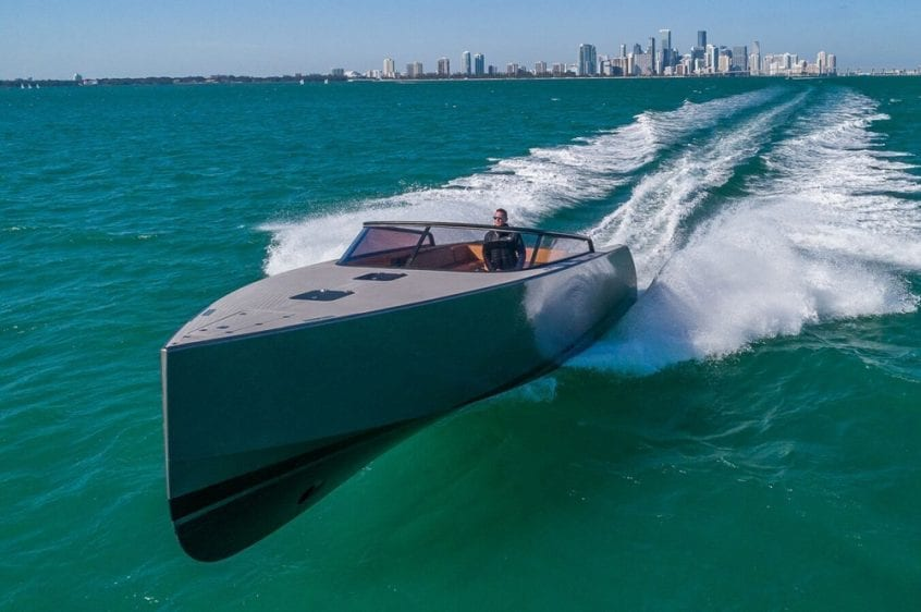 40' VanDutch North Miami Yacht Rental Main