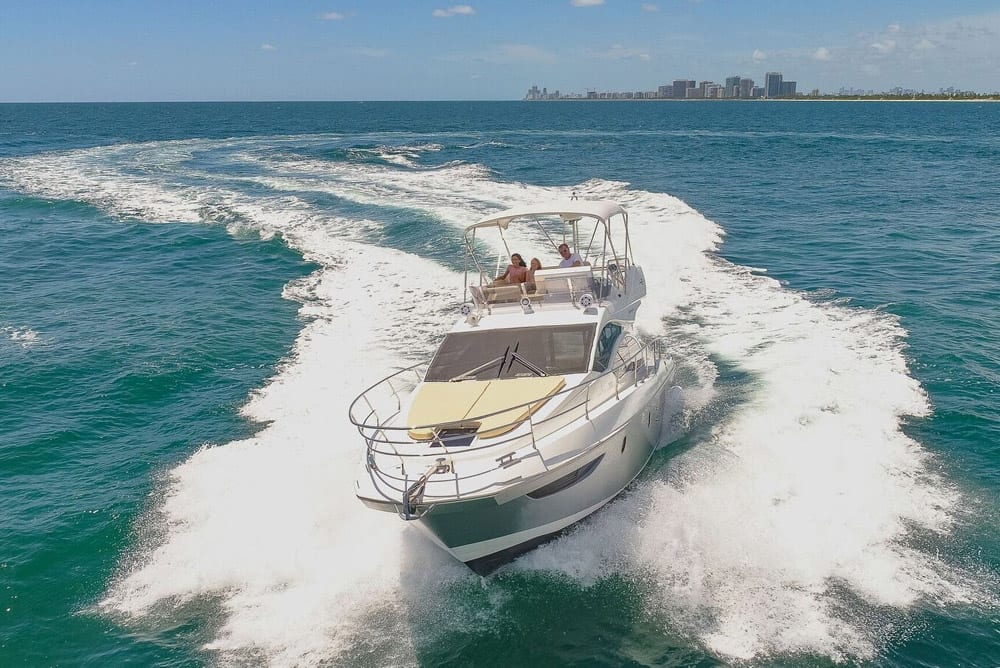 42' Azimut North Miami Yacht Rentals