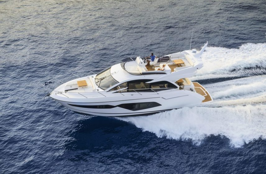 Newport Beach Luxury Yacht 52' Sunseeker