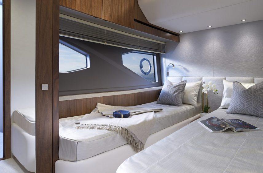 Newport Beach Luxury Yacht 52' Sunseeker Stateroom