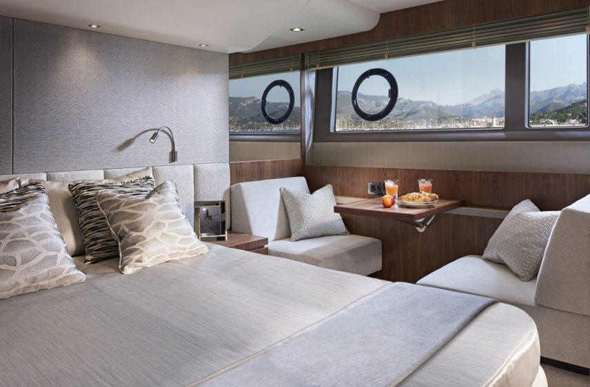 Newport Beach Luxury Yacht 52' Sunseeker Stateroom 2