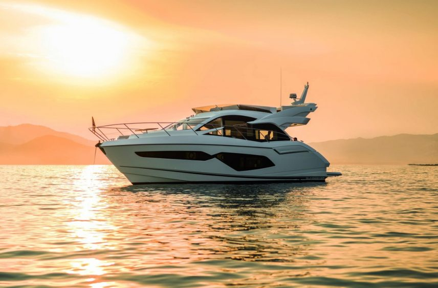 Newport Beach Luxury Yacht 52' Sunseeker Sunset