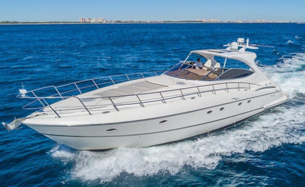 54' Cruiser Yacht Charters Miami Beach