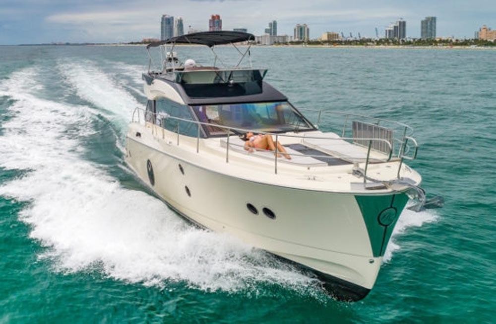 55' Monte Carlo Miami Yacht Charter