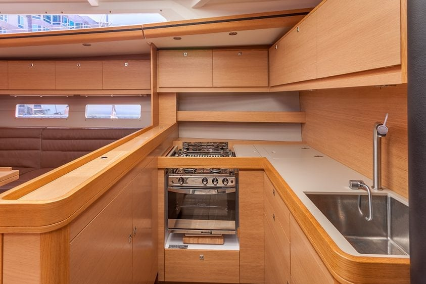56' Dufour Galley