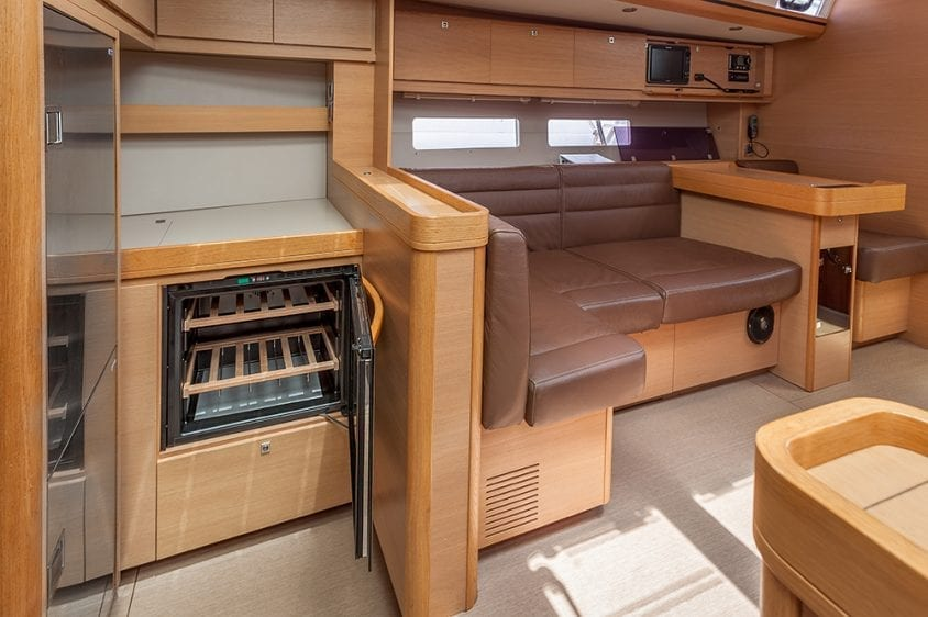 56' Dufour Galley Dining