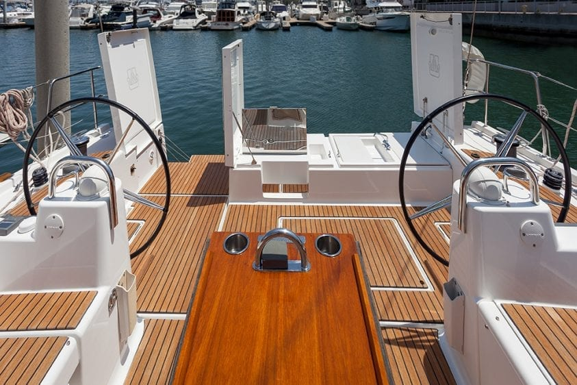 56' Dufour Helm Station