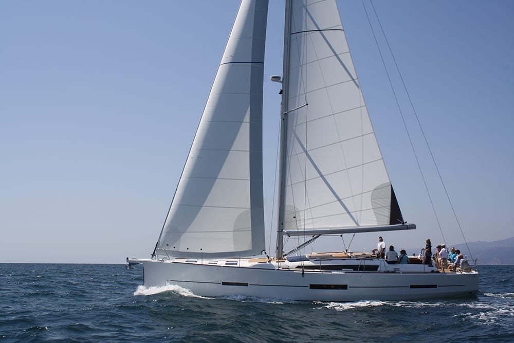 Marina del Rey Luxury Sailing Yacht