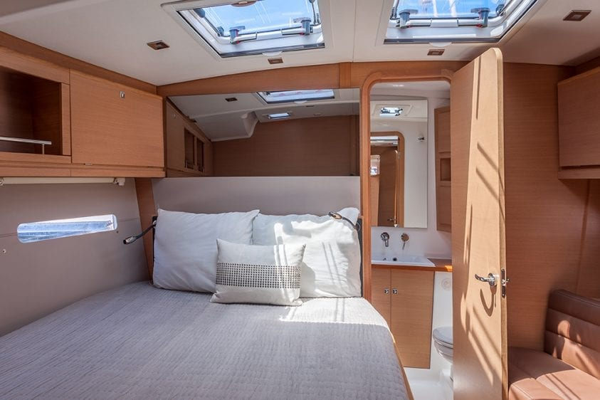 56' Dufour Stateroom