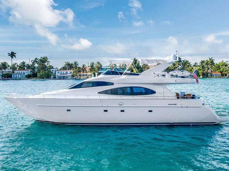 Luxury Boat Rental in Miami Beach