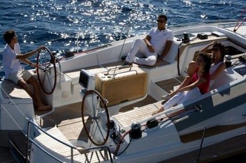 Marina del Rey Sailing Yacht