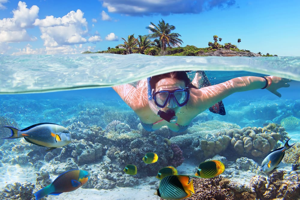 Bahamas-yacht-charter-snorkeling