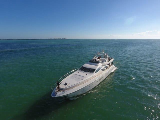 Cabo San Lucas Yacht Rentals 100' Azimut Ahead
