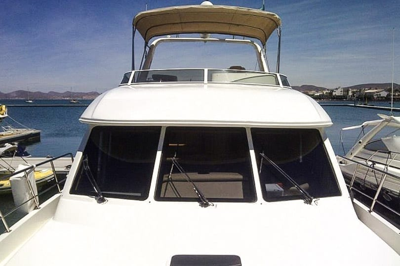 Cabo San Lucas Yacht Rentals 55' American Custom Front