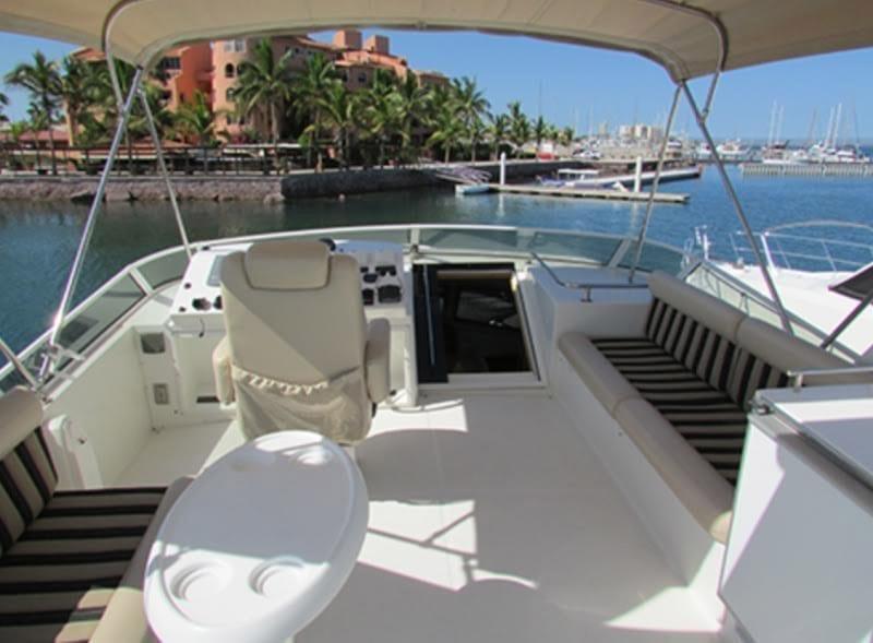 Cabo San Lucas Yacht Rentals 55 American Custom Upper Deck