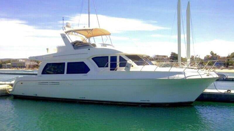 Cabo San Lucas Yacht Rentals 55' American Custom