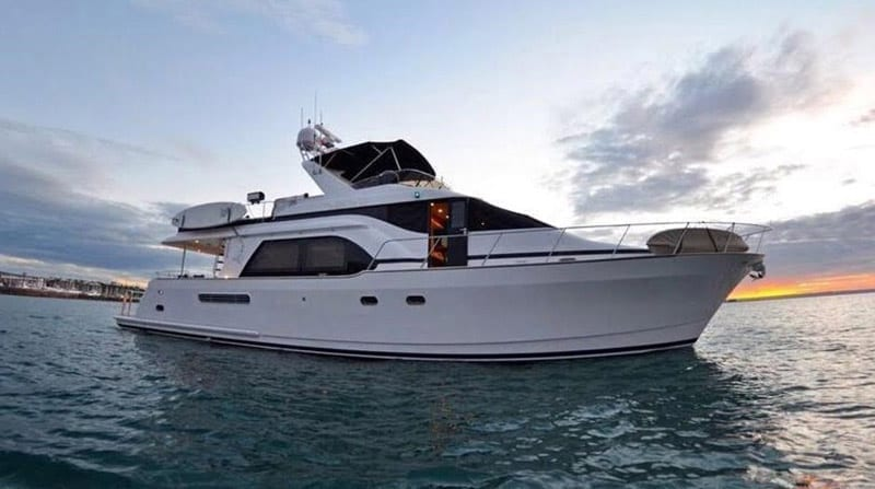 Cabo Yacht Rentals 68' Queenship Profile