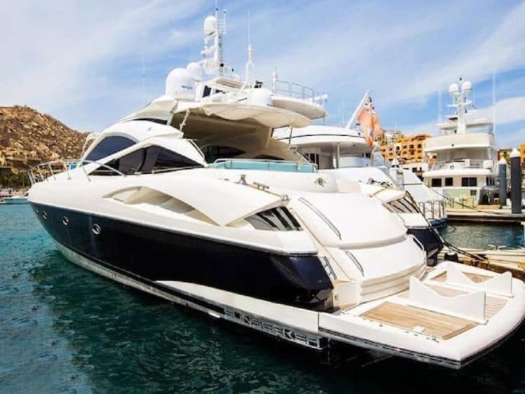 Cabo San Lucas Yacht Rentals 70' Sunseeker
