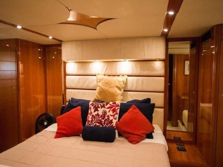 Cabo San Lucas Yacht Rentals 70' Sunseeker Master Stateroom