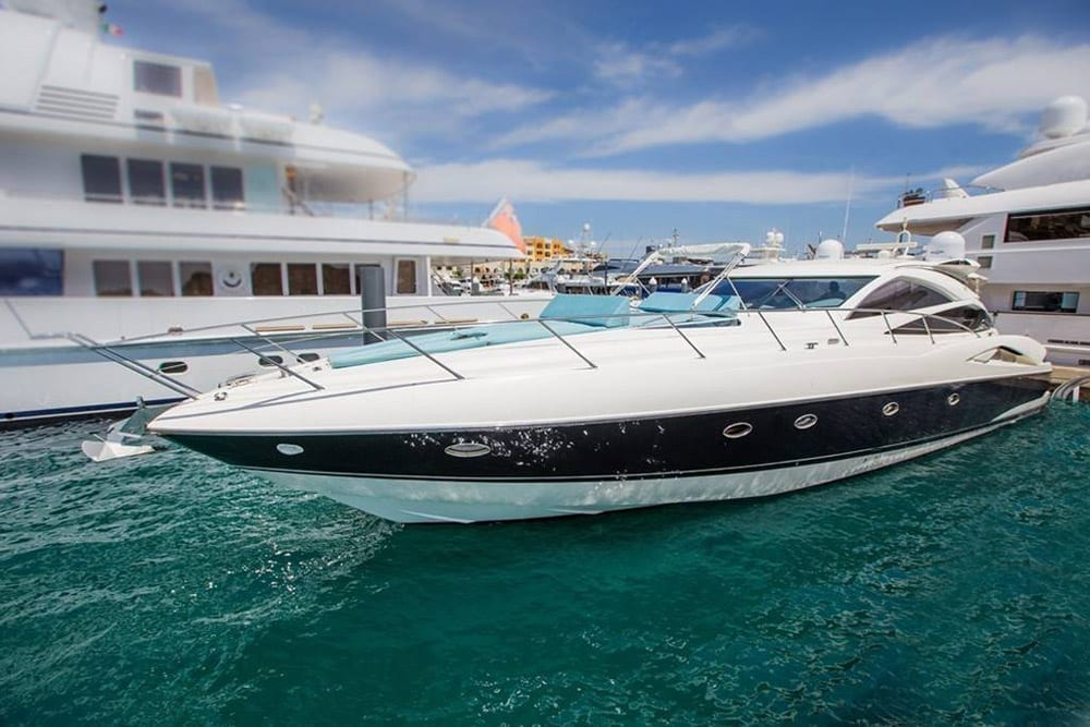 Cabo yacht charters 70' Sunseeker Port