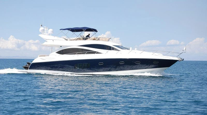 Cabo San Lucas Yacht Rentals 74' Sunseeker