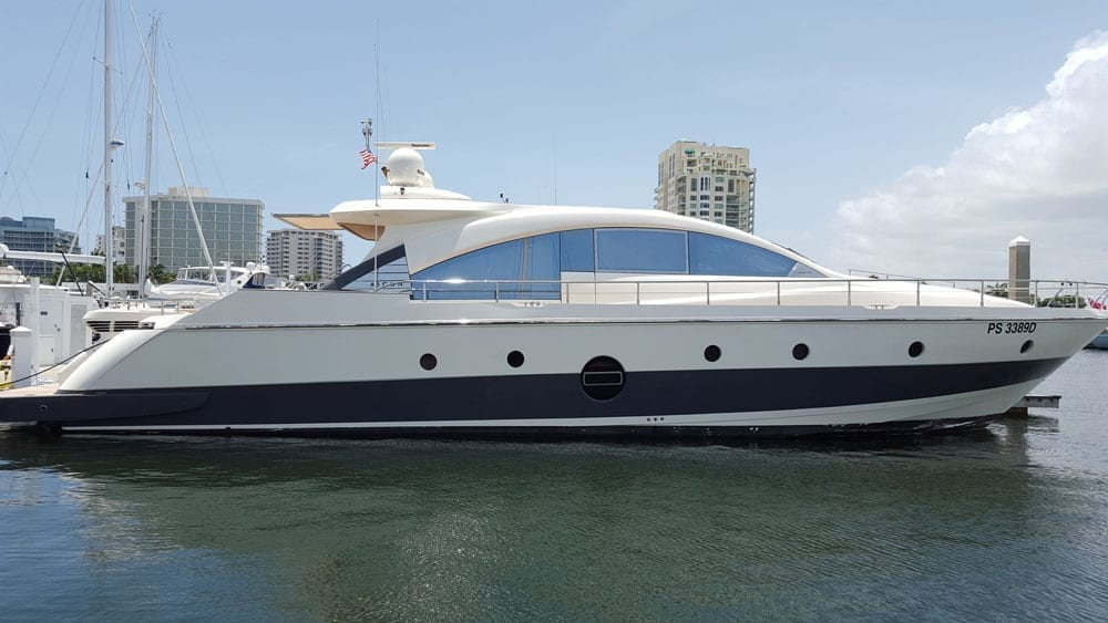 Cabo Yacht Rental 77' Aicon