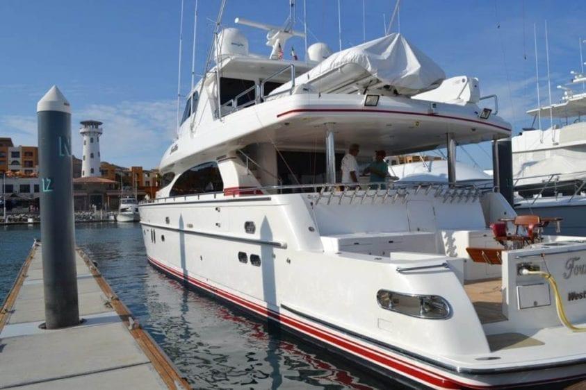 Cabo San Lucas Yacht Rentals 92' Horizon