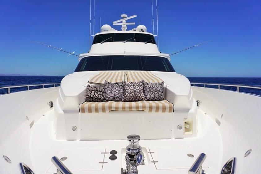 Cabo San Lucas Yacht Rentals 92' Horizon Bow Lounge