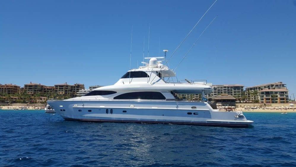 Cabo San Lucas Yacht Rentals 92' Horizon Port Profile