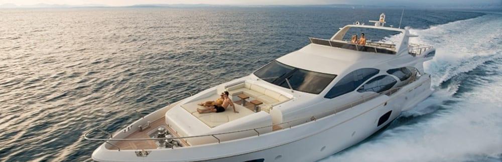 Cabo luxury yacht charters 95' Azimut Cruising