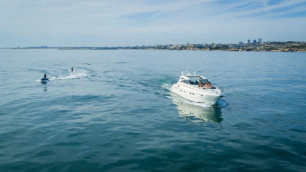 Newport Beach Power Yacht Charter