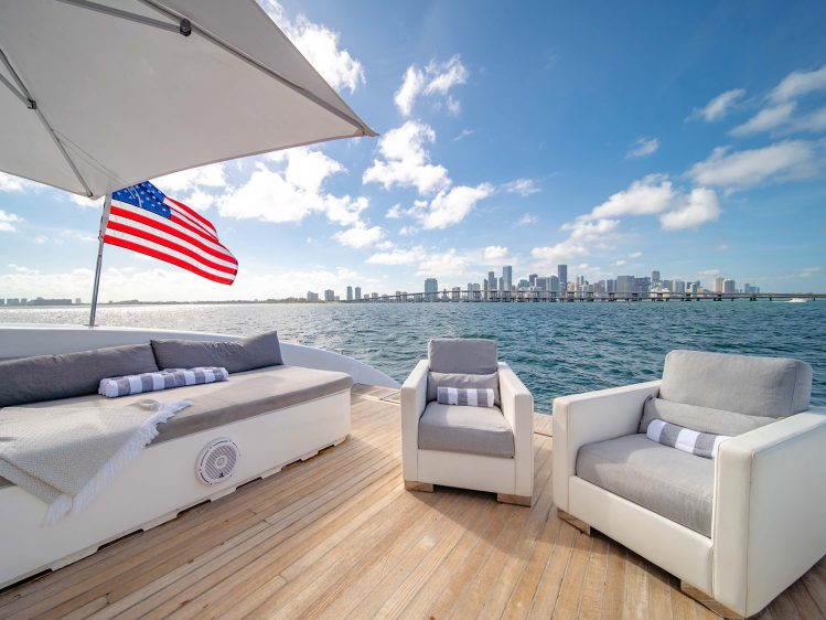 Luxury Boat Charter In Miami