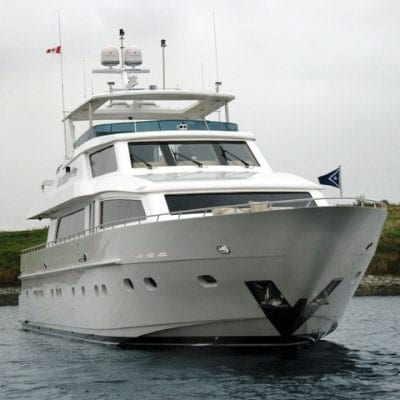 Ft. Lauderdale Yacht Rentals 114' Hargrave Bow