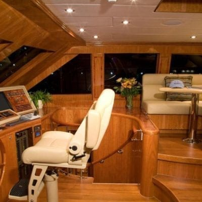 Ft. Lauderdale Yacht Rentals 114' Hargrave Helm Station