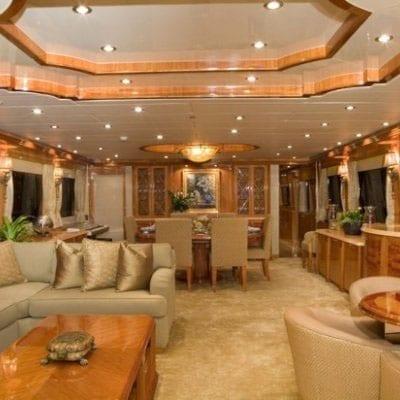 Ft. Lauderdale Yacht Rentals 114' Hargrave Salon