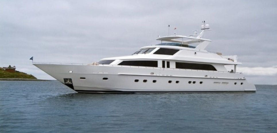 Fort Lauderdale yacht charter 114' Hargrave