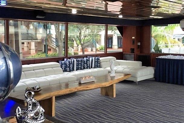 Ft. Lauderdale Yacht Rentals 115' Skipperliner Cocktail Lounge