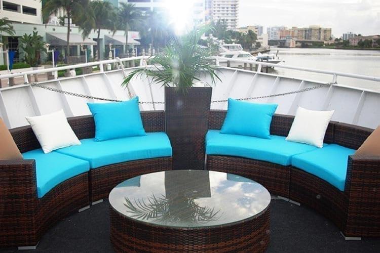 Ft. Lauderdale Yacht Rentals 120' Blount Bow Lounge