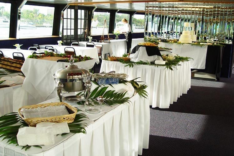 Ft. Lauderdale Yacht Rentals 120' Blount Catering