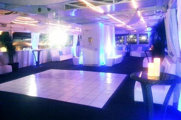 Ft. Lauderdale Yacht Rentals 120' Blount Dance Floor