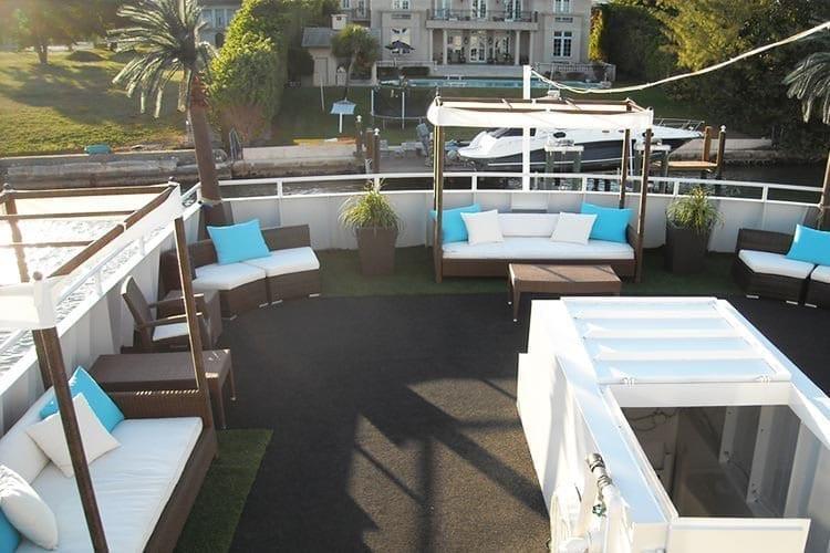 Ft. Lauderdale Yacht Rentals 120' Blount Upper Deck