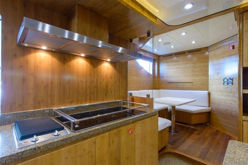 Ft. Lauderdale Yacht Rentals 127' IAG Galley Dine In