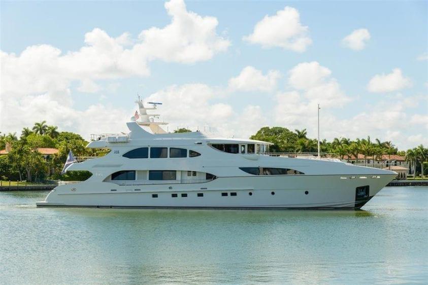 Ft. Lauderdale Yacht Rentals 127' IAG Profile