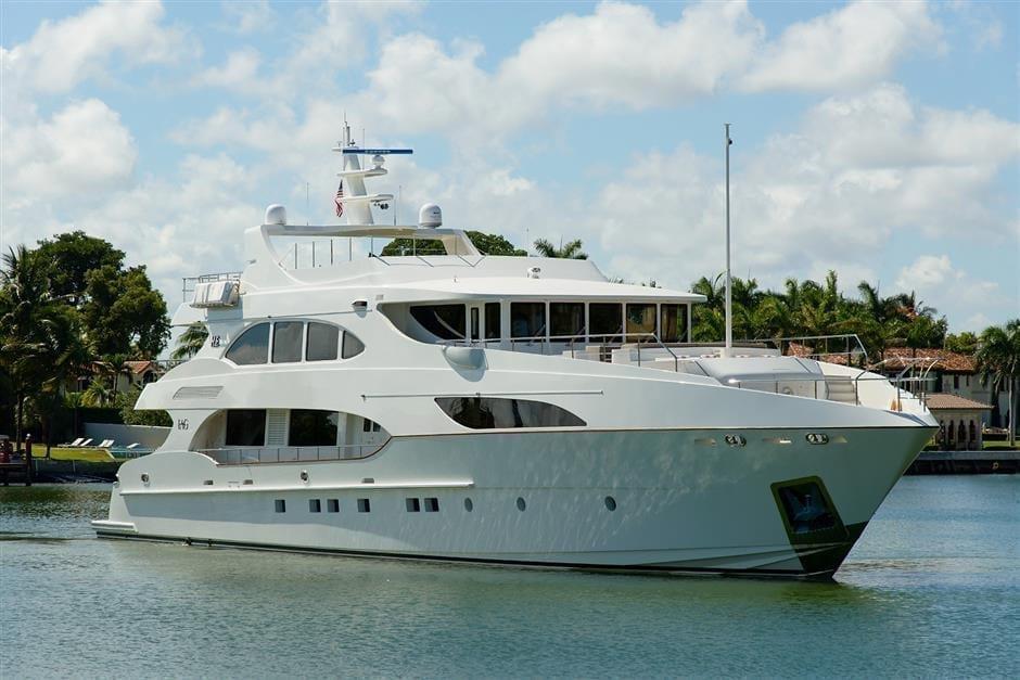 Fort Lauderdale Super Yacht Rental 127' IAG