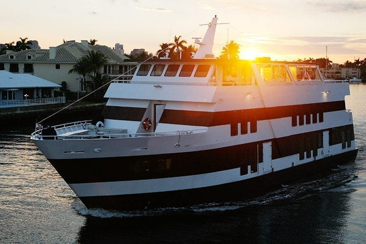 Ft. Lauderdale Yacht Rentals 130' Keith Marine Profile